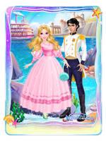 Princess Doris and prince Aaron by unicornsmile
