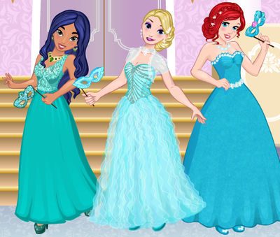 Disney Princess Masquerade Ball By Unicornsmile On Deviantart