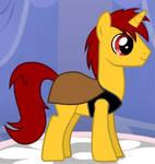 Pony Benjamin Franklin Gates by unicornsmile