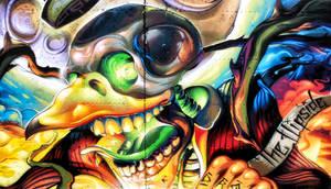 Graffiti One by ScorpiiLupi