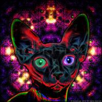 Sphynx the Moon Cat by ScorpiiLupi