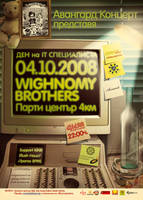 Wighnomy Brothers Poster by r77adder