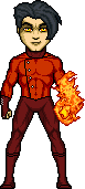 Age without X-Son of Fire - Guardian of the Flame by therealOrkie