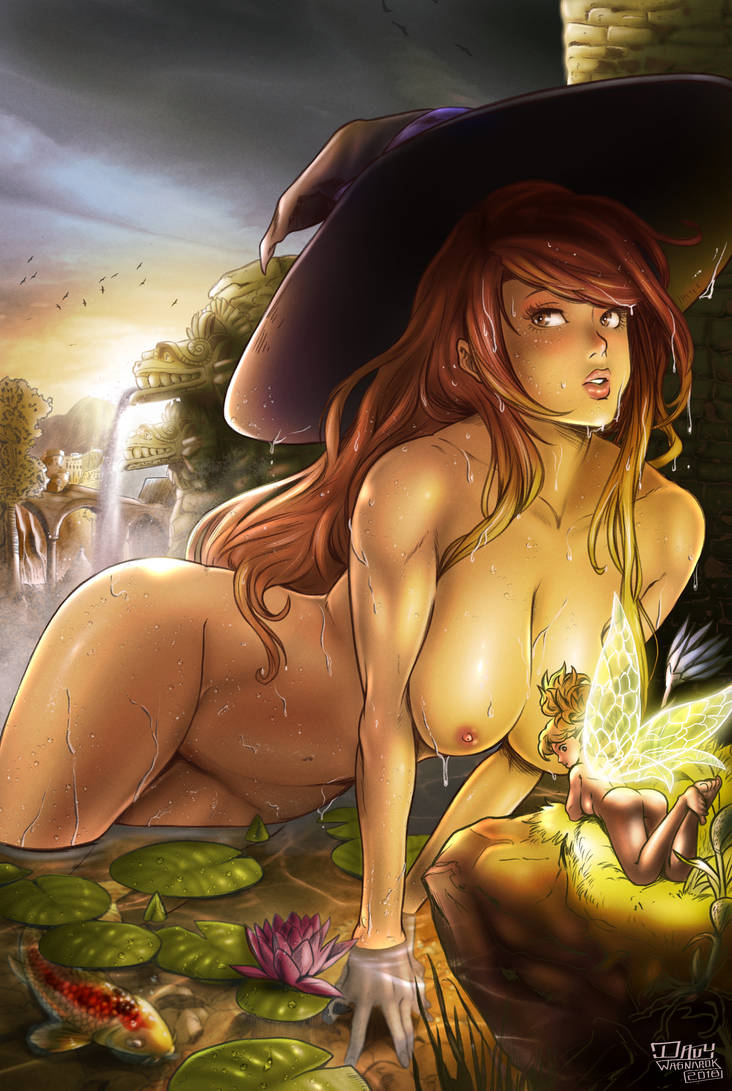 Dragon's Crown - Sorceress fanart (NSFW) by DavyWagnarok