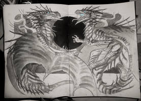 dragon fight by mojo123s