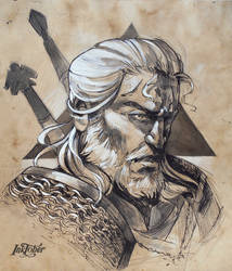 Geralt of Rivia by mojo123s