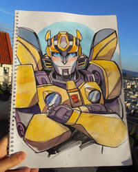 Bumblebee by mojo123s