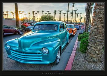 Sunset HotRod by HogRider