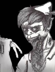 Zombie Peter Pan by nokidney13