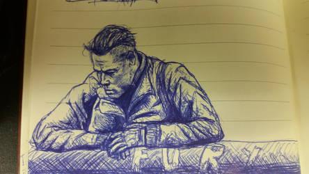 fury sketch by nokidney13