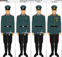 Panterria - Red Cross Dress/Service Uniforms by Grand-Lobster-King