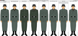 Some German WWII Field Uniforms by Grand-Lobster-King