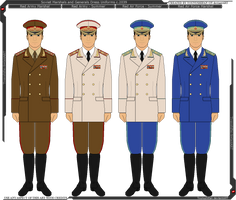 Panterria - Soviet General and Marshal Uniforms by Grand-Lobster-King