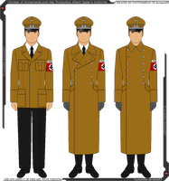Some of Albert Speer's Uniforms by Grand-Lobster-King