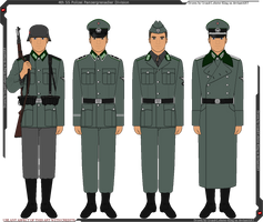 4th SS Polizei Panzergrenadier Division Uniforms by Grand-Lobster-King
