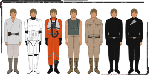 Star Wars - Overview of Luke Skywalker by Grand-Lobster-King