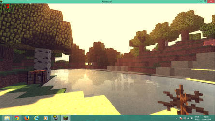 Minecraft with Shaders by mister-games