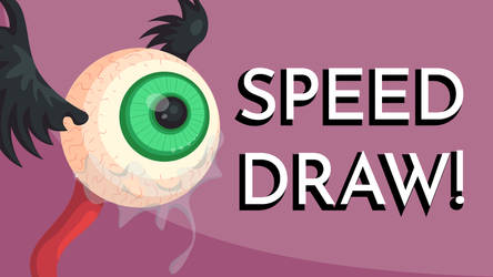Crying Flying Eyeball Speed Draw By Jadedamrail On Deviantart