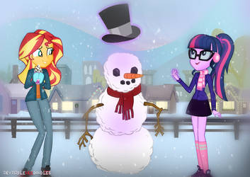 Do You Want to Build a Snowman? by InvisibleInkDoodles