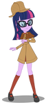 Twilight Holmes by InvisibleInkDoodles