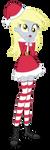 Santa Derpy by InvisibleInkDoodles