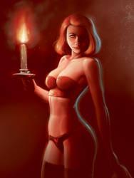 Patreon the candle (final) by Atilio-Gambedotti