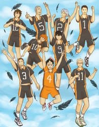Haikyuu!! by TheLittleArtist