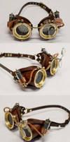 Ocular Enhancers - Steampunk Goggles by CraftedSteampunk