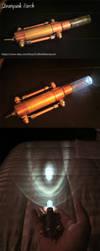 Steampunk Torch by CraftedSteampunk