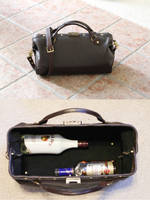 Bag of Libations - Victorian/Steampunk Doctors Bag by CraftedSteampunk
