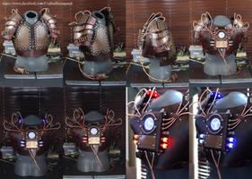 Steampunk Soldier Armor by CraftedSteampunk