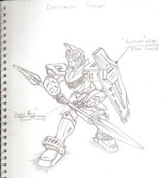 SOUL Gundam - Centurion Gundam by soulgundam