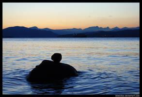 West Coast Sunset by laufiend