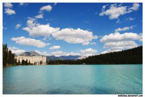 Chateau Lake Louise by laufiend