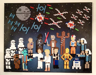 Star Wars: A New Hope by PixelArtShop