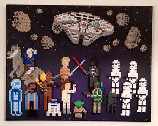 Star Wars: The Empire Strikes Back by PixelArtShop