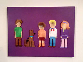 Scooby-Doo Gang by PixelArtShop