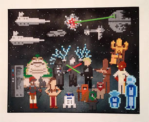 Star Wars - Return of the Jedi by PixelArtShop