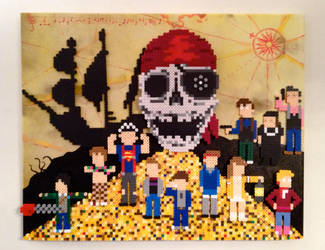 Goonies Never Say Die by PixelArtShop