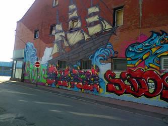 graffiti ship by thegreatbobinsky