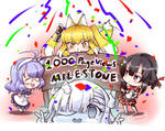 Thank for 1000 Pageviews milestone. by gainoob