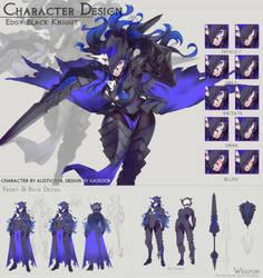 [CM] Edgy Black Knight by gainoob