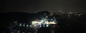 Hiroshima At Night by GSDavisArt