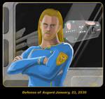 ThorAsAStarship Captain by GSDavisArt