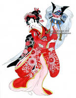 Geisha by Ilojleen