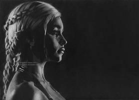 Daenerys Targaryen (Emilia Clarke) by Ilojleen