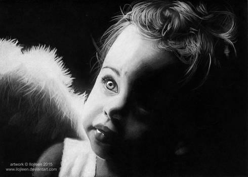 A little angel by Ilojleen