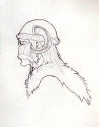 Viking by NeverAMomentOfSanity
