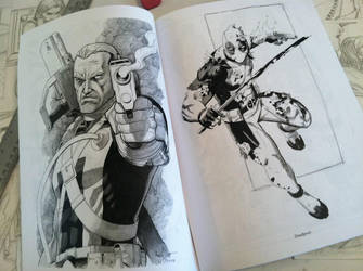Sketchbook Pages by ReillyBrown