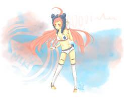 SF A2 Miki by RishuMisu